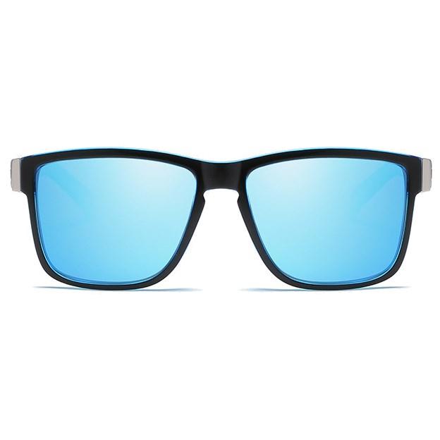 Luxe Wayfarer zonnebril - Blauw Gepolariseerd