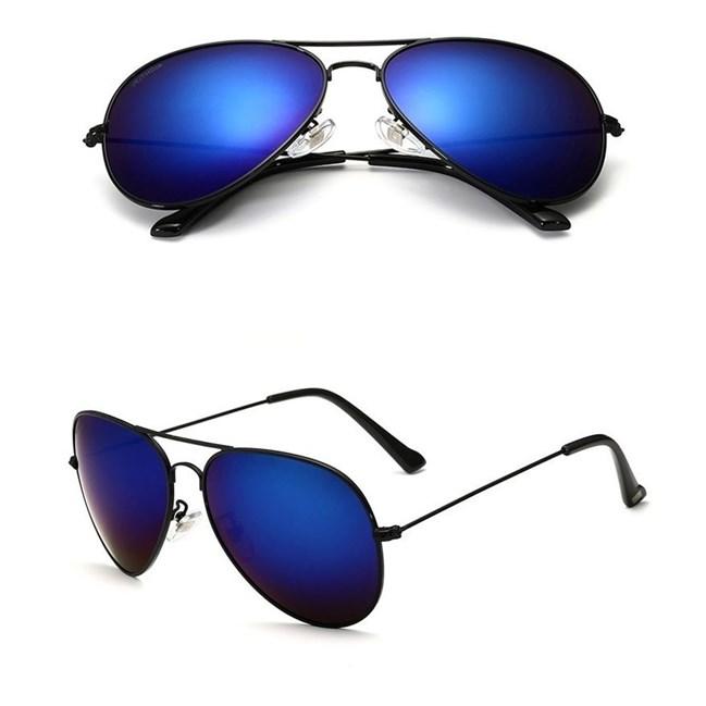 Pilotenbril Blauw/Zwart - gepolariseerd