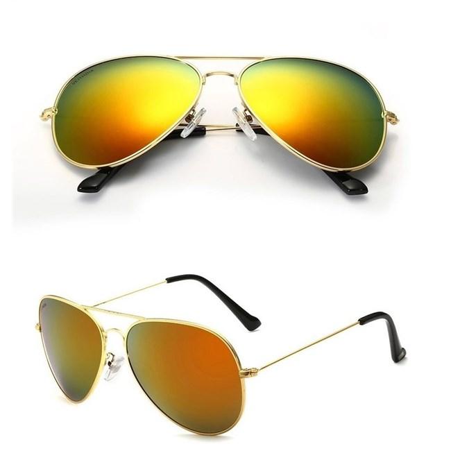 Pilotenbril  Oranje/Goud - gepolariseerd