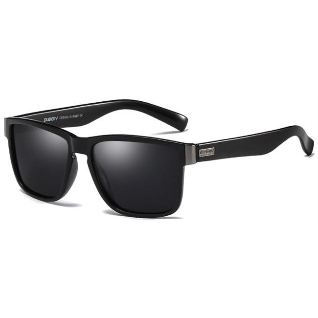 Luxe Wayfarer zonnebril - Zwart Gepolariseerd