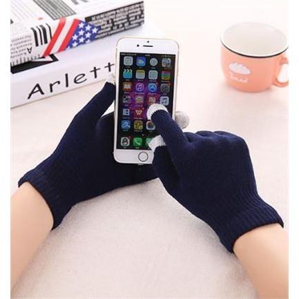 Touschscreen Handschoenen - Donkerblauw