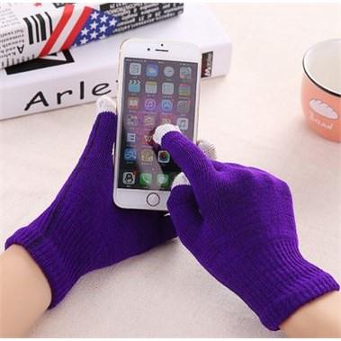 Touchscreen Handschoenen - Paars