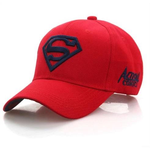Baseballpet Superman - Rood/Zwart