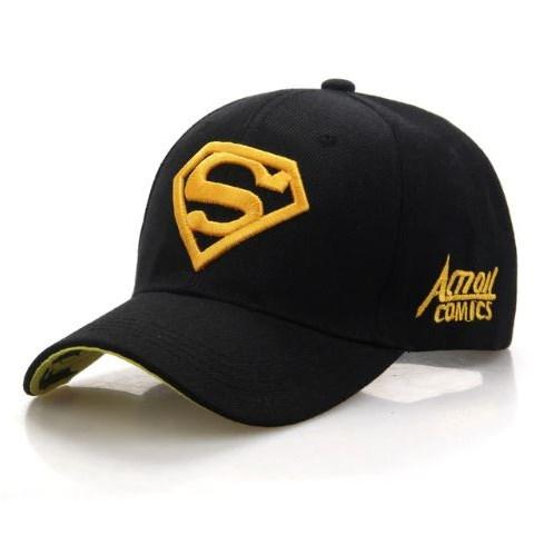 Baseballpet Superman - Zwart/Geel