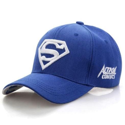 Baseballpet Superman - Blauw/Wit