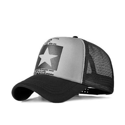 Truckercap Ster - Grijs