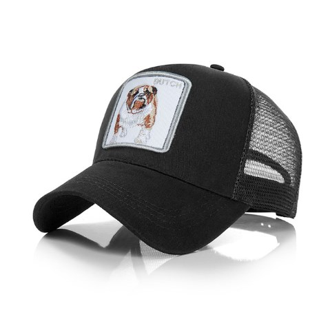 Truckercap Bulldog - Zwart