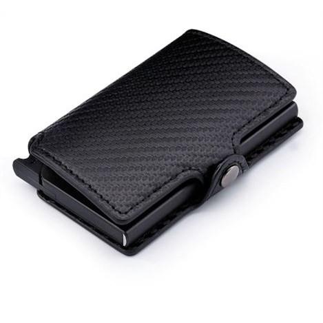 Slimwallet Portemonnee - Carbon Zwart