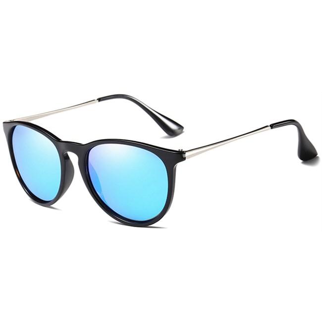 Classic Erika vintage zonnebril - Blauw Gepolariseerd