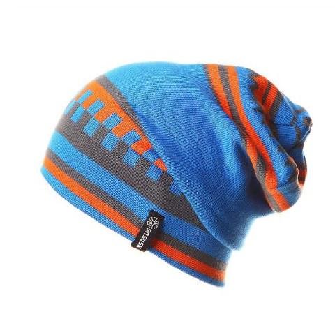 Wintermuts Blauw/Oranje