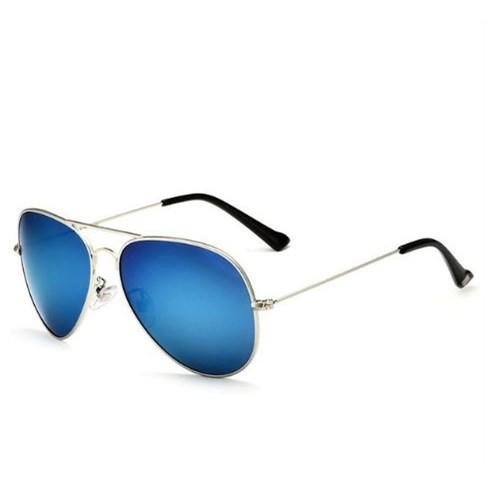 Pilotenbril Blauw/Zilver - gepolariseerd