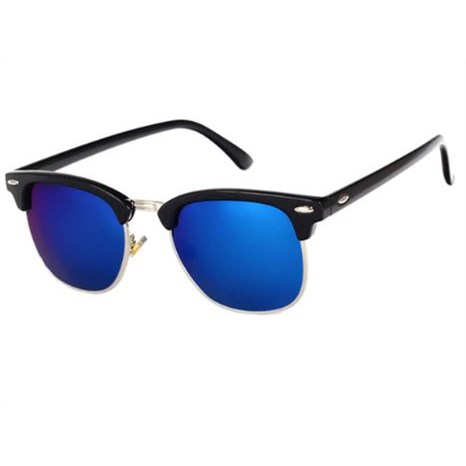 Clubmaster Zonnebril - Blauw/Zwart