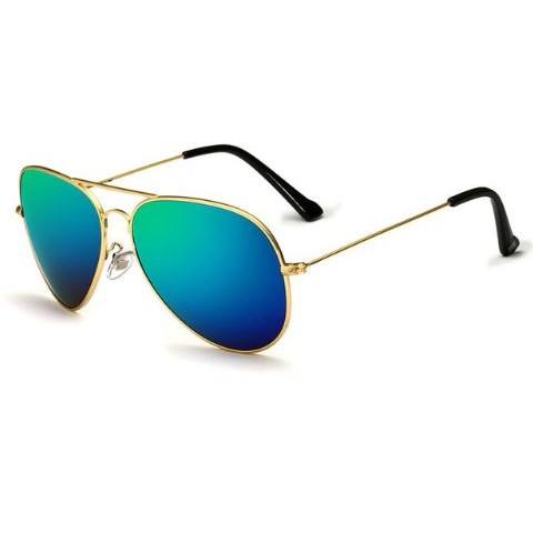 Pilotenbril Groen/Goud - gepolariseerd