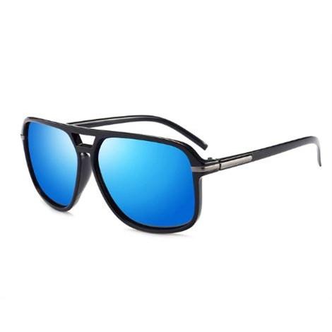 Oversized Zonnebril - Blauw gepolariseerd