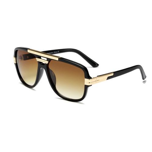 Oversized Zonnebril Trendy - Zwart
