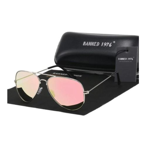 Pilotenbril Roze - Gepolariseerd